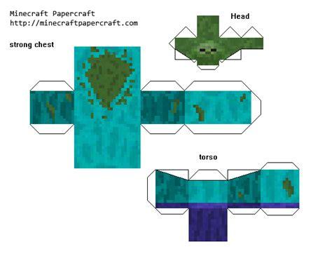 Minecraft Papercraft Mutant - papercraft mutant mutant creatures mod