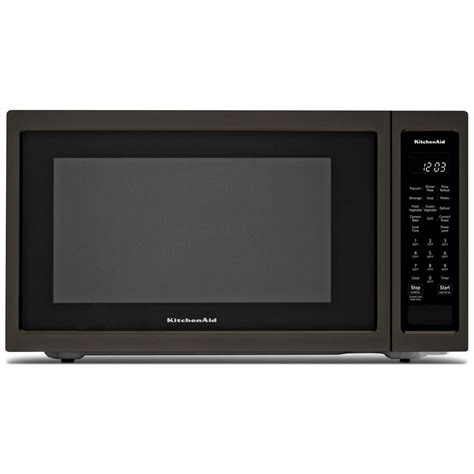 Convection Microwave Countertop by Kmcc5015gbskitchenaid 22 Quot 1 5 Cu Ft 1000w Countertop
