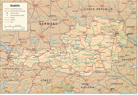 pictures of maps free maps of austria