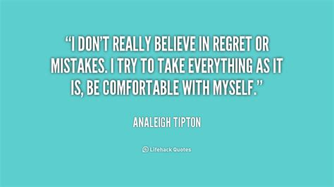 Quotes About Regrets In