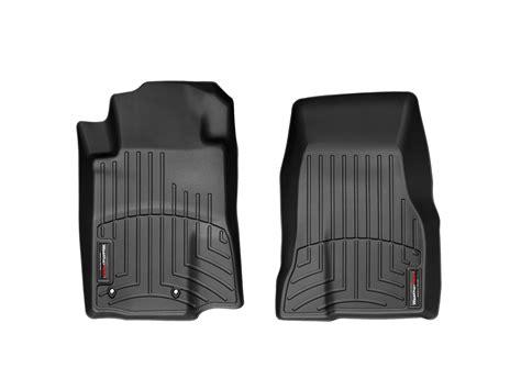 weathertech floor mats floorliner ford mustang 2010 black front set ebay