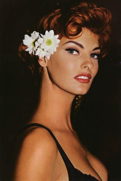 beautiful model linda evangelista supermodel fashionsizzle