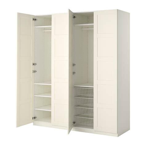 ikea 4 door wardrobe pax wardrobe 200x60x236 cm standard hinges ikea