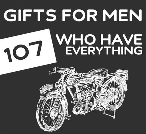 107 unique gifts for men who have everything unique