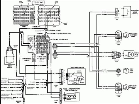 1979 chevy silverado wiring diagram wiring diagram