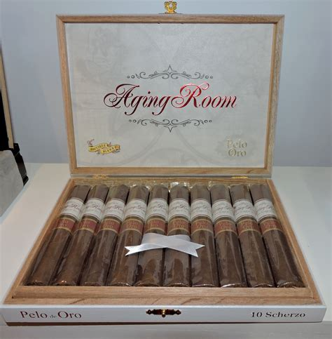 Aging Room by Cigar News Aging Room Pelo De Oro Launched By Boutique Blends At 2016 Ipcpr
