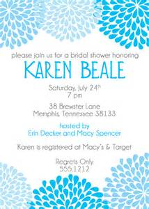 when to send bridal shower invitations template best template collection
