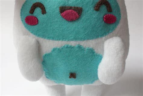 yeti plush pattern by amanda tepie how to make a kawaii yeti monster plush softie