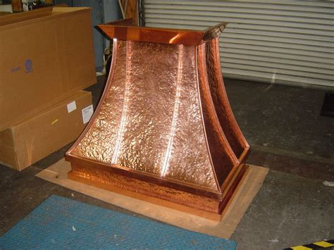 Copper Kitchen Exhaust made hammered copper kitchen by ejmcopper