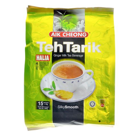 Teh Tarik Aik Cheong Original aik cheong 4 in 1 teh tarik halia milk tea beverage fresh groceries delivery redtick