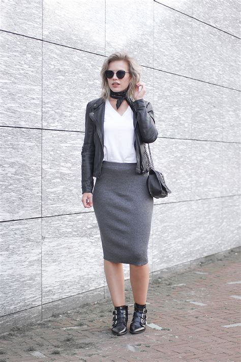 knit outfit the comfy rib knit midi skirt reiding