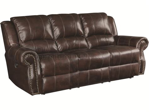 power motion sofa leather 650161p sir rawlinson power motion sofa in brown leather match