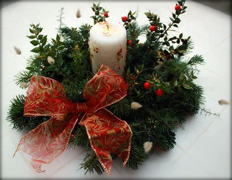 addobbo tavolo natalizio centrotavola natalizio fai da te