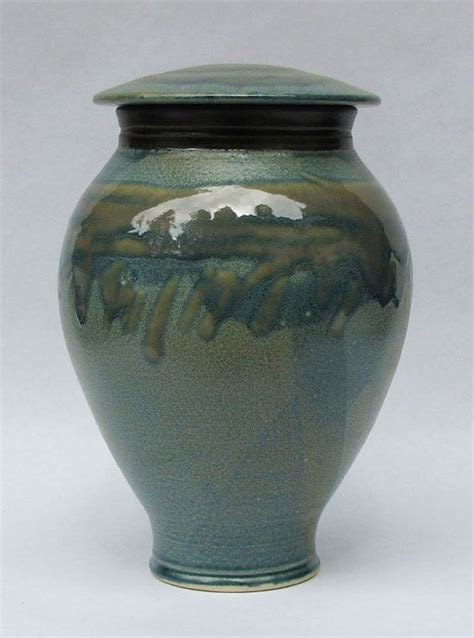 Handcrafted Cremation Urns - handmade ceramic cremation urn for ashes