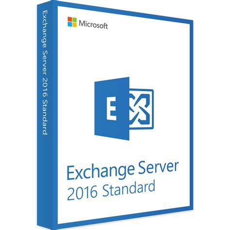 Server Microsoft microsoft exchange server 2016 standard kaufen
