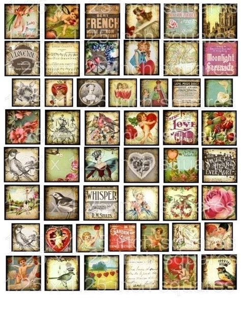 printable digital images digital collage sheet printable images download