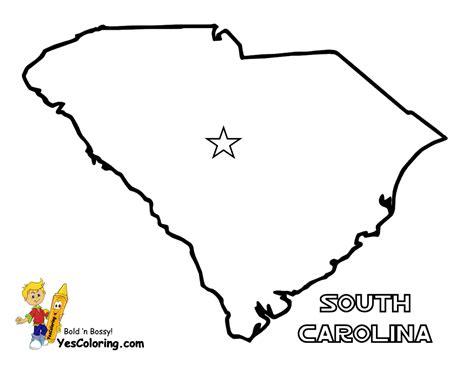 south carolina colors free state maps massachusetts south dakota map
