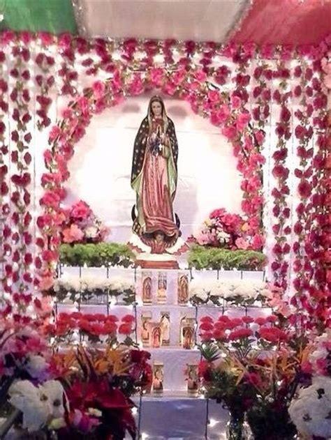 como decorar para la virgen de guadalupe un altar de la virgen de guadalupe en santa ana ca