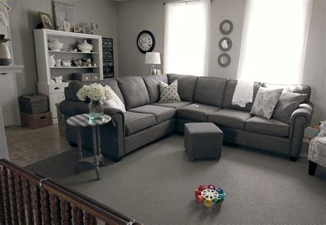 grey living room rug how to make a cheapo area rug feel like a million bucks the creek line house