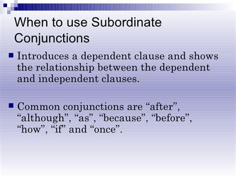 powerpoint tutorial ks2 subordinating and coordinating conjunctions ks2 ppt