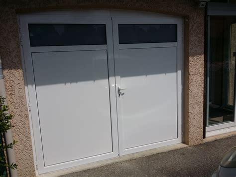 Porte Garage Sur Mesure 6805 by Porte De Garage Pvc 2 Vantaux Sur Mesure Maison Travaux