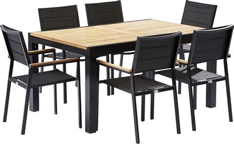 Table Et Chaises De Jardin by Table Et Chaises De Jardin Moderne Bali 6 Fauteuils