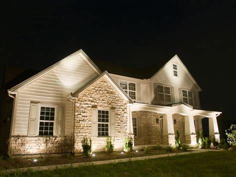 House Uplighting by Professional Outdoor Lighting Design Exterior Light Designs