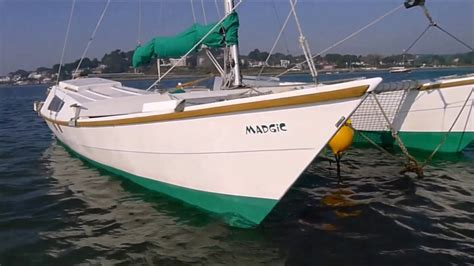 catamaran sailing youtube wharram tiki 26 madgic catamaran sailing youtube