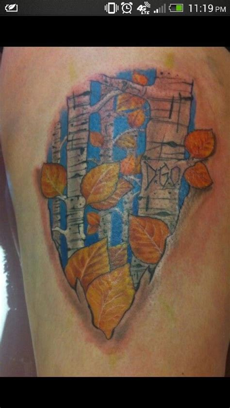 aspen tree tattoo designs 650 best tree images on