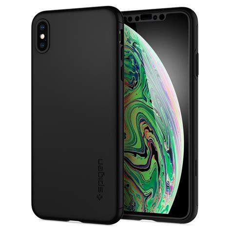 iphone xs max case thin fit  spigen