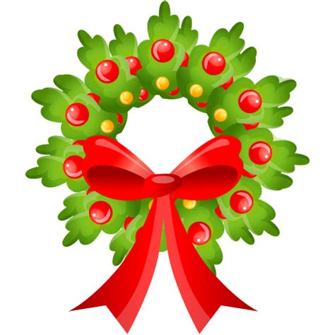 free to use public domain christmas wreath clip art