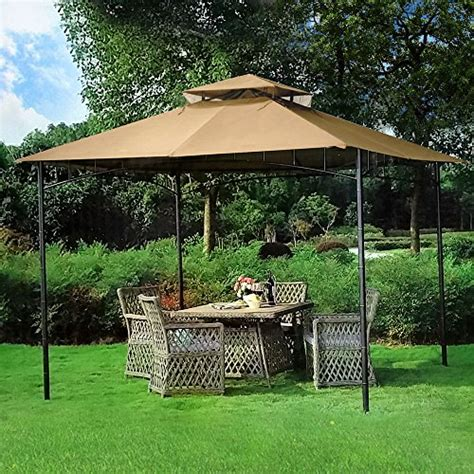 Patio Furniture Gazebo 10 X 10 Grove Patio Canopy Gazebo Gazebos Patio And Furniture