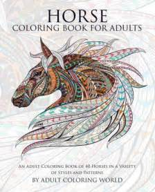 horse coloring book adults coloring 9781519798824