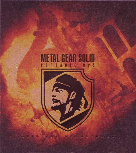 Original I Gear metal gear solid portable ops original soundtrack
