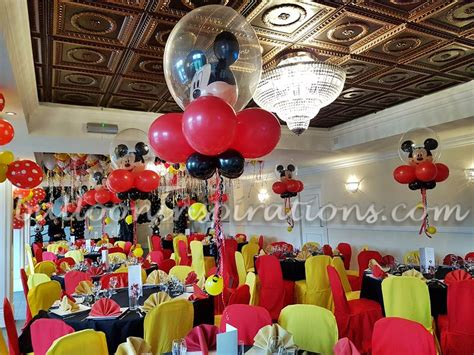 balloon decor mickey mouse theme mickey mouse clubhouse themed children s decorations