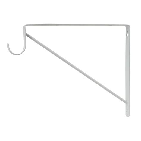 Rod Shelf Support by Everbilt White Heavy Duty Shelf And Rod Support Shop