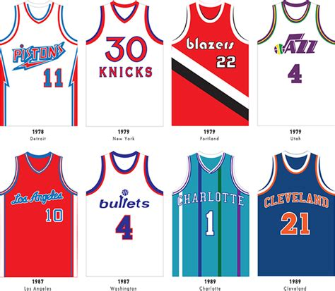 nba jersey design editor 165 sweet basketball jerseys on one gorgeous poster