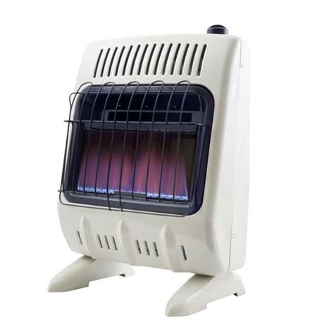 vent free propane heater with thermostat 10 000 btu vent free blue flame propane heater with thermostat