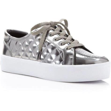 quilted platform sneakers minkoff metallic quilted platform sneakers found