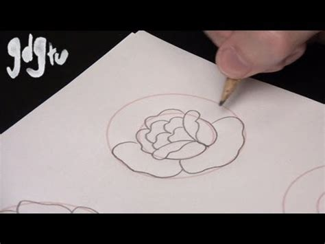 how to draw a traditional rose tattoo how to draw basic traditional designs by a