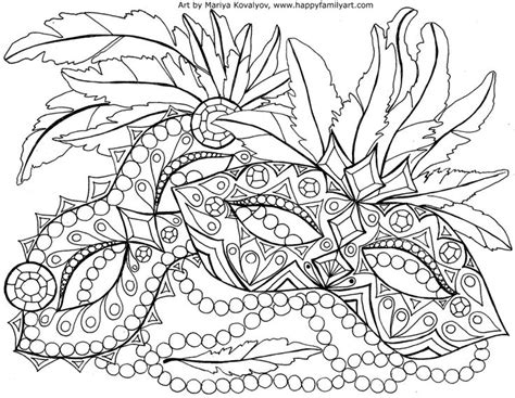 beautiful mardi gras mask printable coloring pages beautiful mardi gras mask printable coloring pages
