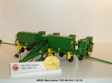 Deere 494 Planter by Deere Mais Planter T H E 494 Farmmodeldatabase