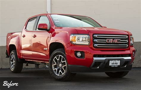 truck accessories gmc all terrain package vip auto accessories