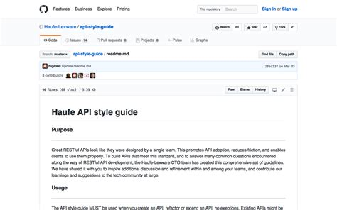 api design guidelines java design guidelines