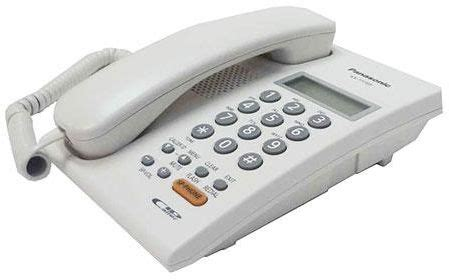 Panasonic Telephone Kx T7705 price review and buy panasonic kx t7705 2 line lcd display caller id compatible ksa souq