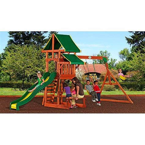 backyard discovery woodland backyard discovery tucson cedar wooden swing set backyard