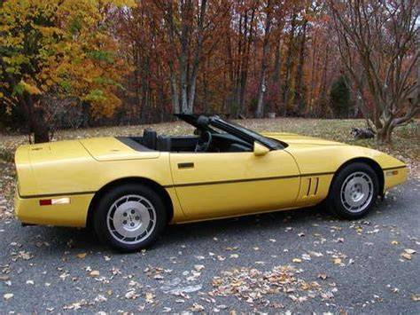 used corvettes for sale in indianapolis buy used 1986 chevrolet corvette indianapolis 500 pace car