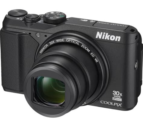 buy nikon coolpix s9900 superzoom compact black free delivery currys