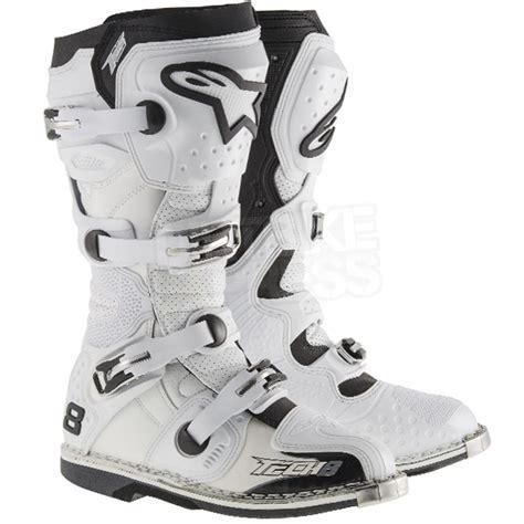 motocross boots 8 2015 alpinestars tech 8 rs boot white dirtbikexpress