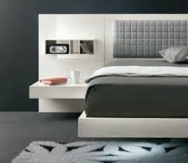 Cool floating futuristic bed amp modern headboard design